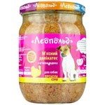 Leopold Meat delicacy Food with Turkey Meat for Dogs 500g