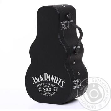 Виски Jack Daniel's Tennessee Old No.7 40% 0,7л в футляре гитары - купить, цены на СитиМаркет - фото 2