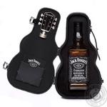 Виски Jack Daniel's Tennessee Old No.7 40% 0,7л в футляре гитары