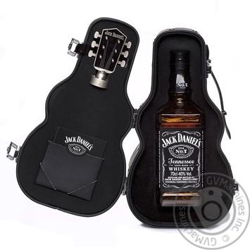 Віскі Jack Daniel's Tennessee Old No.7 40% 0,7л у футлярі гітари - купити, ціни на CітіМаркет - фото 1