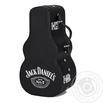 Jack Daniel's Tennessee Old No.7 Whiskey 40% 0,7l in a guitar case - buy, prices for CityMarket - photo 3