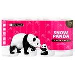 Туалетная бумага Снежная панда  Extra care Aroma четырехслойная 16 рулонов