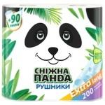Рушники паперові Сніжна Панда Extra Long 2шт