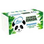 Snizhna Panda 2-ply Paper Towels 140pcs