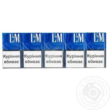 Сигареты L&M Loft Blue - купить, цены на Фуршет - фото 3