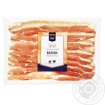 Metro Chef raw-smoked bacon 450g - buy, prices for Metro - image 1