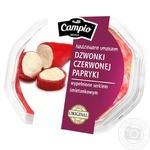 Перць Campio червоний з сиром 250г - купити, ціни на Метро - фото 1