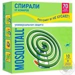 Спіралі Mosquitall для захисту від комарів 10шт