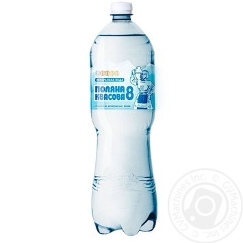 Sparkling medical-table mineral water Polyana kvasova 1,5l - buy, prices for Auchan - image 1