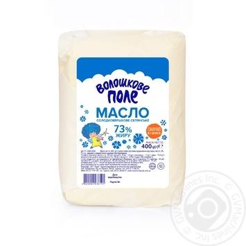 Voloshkove pole sweet cream butter 73% 400g - buy, prices for Furshet - image 1