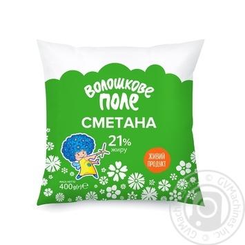 Sour cream Voloshkove pole 21% 400g - buy, prices for CityMarket - photo 1