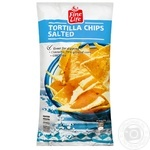 Fine Line Tortilla chips with salt 200g