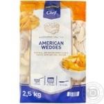 Картофель METRO Chef American Wedges ломтики замороженный 2,5кг