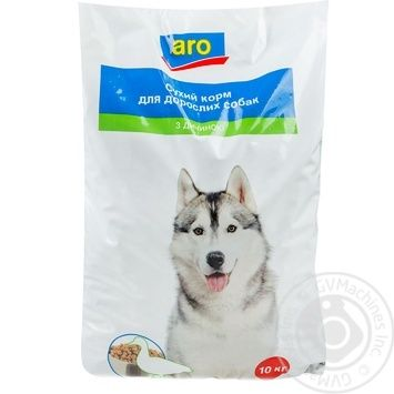 Aro with wildfowl dry for dogs food 10000g - buy, prices for Metro - image 1
