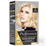Краска для волос L'oreal Preference 9 Голливуд Очень светло-русый