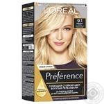 Фарба для волосся L'Oreal Recital Preference 9.1 Вікінг дуже світло-русявий попелястий