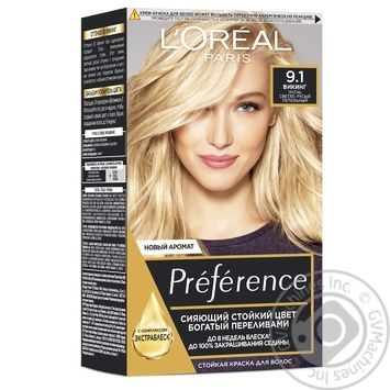 L'oreal Recital Preference №9.1 Hair Dye - buy, prices for Novus - image 1