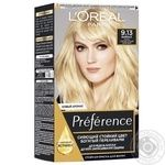 Краска для волос Loreal Preference №9.13 Байкал