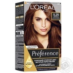 Краска для волос L'Oreal Recital Preference 5.25 Антигуа каштановый перламутровый