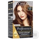 Краска для волос L'Oreal Recital Preference 6.35 Гавана Светлый янтарь