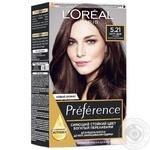 Фарба для волосся L'Oreal Paris Preference 5.21 шт - купити, ціни на Ашан - фото 1