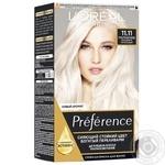 Краска для волос L'Oreal Paris Recital Preference 11.11 ультраблонд холодный пепельный