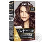 L'Oreal Recital Preference 6.21 Hair dye Rivoli pearly light chestnut