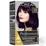 Краска для волос L'Oreal Recital Preference 3.26 Терпкий глинтвейн темно-фиолетовый