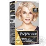 L'Oreal Recital Preference 9.23 Hair dye Pink platinum