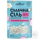 Вкусная соль Приправка морская с чесноком и луком 200г