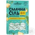 Вкусная соль Приправка морская с пармезаном и розмарином 200г