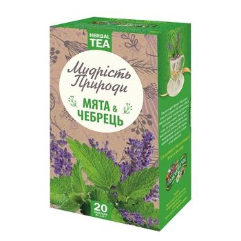 Poliskyi Chai Mint And Herbal Tea in Bags 1,5g*20pcs - buy, prices for MegaMarket - image 1