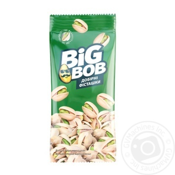 Big Bob Selected With Salt Fried Pistachio 45g - buy, prices for Furshet - image 1
