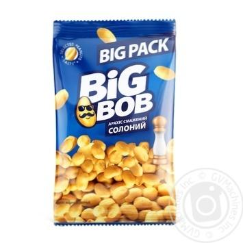 Арахіс Big Bob смажений солоний 130г - купити, ціни на МегаМаркет - фото 1