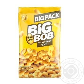 Арахис Big Bob жареный со вкусом сыра 130г - купить, цены на СитиМаркет - фото 1