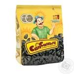 Семена подсолнуха Сан Саныч жареные 125г - купить, цены на Фуршет - фото 1