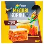 Коржи для торта Домашние продукты Медовые 400г