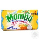 Storck Mamba pineapple-coconut shewing candy 26,5g