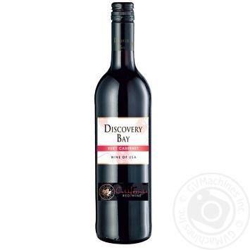Вино Discovery Bay Каберне красное полусухое 16% 0,75л