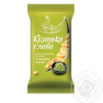 Kozatska slava with wasabi salt peanuts 60g - buy, prices for Furshet - image 1