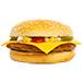 Hamburgers and sandwiches
