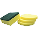 Sponges and scrapers
