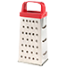 Graters, sieves, colanders