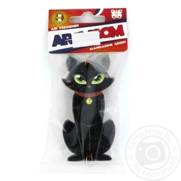 Ароматизатор AromCom Кіт Зелений мандарин 15г - купити, ціни на МегаМаркет - фото 2