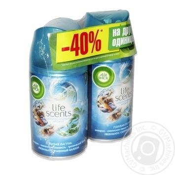 Air Wick Blue lagoon Airfresher 1+1-40% 2Х250ml - buy, prices for MegaMarket - image 1