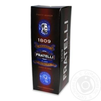 Fratelli Brandy 40% 500ml - buy, prices for Furshet - image 1