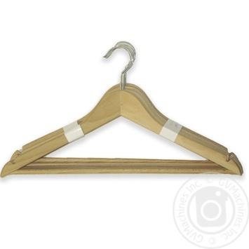 Вiшалка VILAND для одягу 44х1,3см 5шт - купити, ціни на МегаМаркет - фото 1