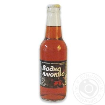 Напій слабоалкогольний Росинка Горілка-Клюква 7% 0,33 скл/пл