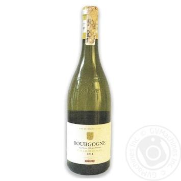 Calvet Bourgogne Chardonnay White Dry Wine 12% 0.75l - buy, prices for CityMarket - photo 1