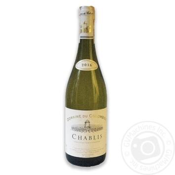 Вино Domaine Du Colombier Chablis біле сухе 12% 0,75л - купити, ціни на CітіМаркет - фото 1